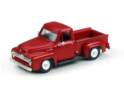 100 1955 Ford Truck Parts Athearn HOScale F100 Pickup Red ATH26442 Toys