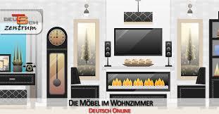 möbel und gegenstände im wohnzimmer germancenter st