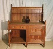 Arts and Crafts Antique Cupboards Dressers and Servers Antiques