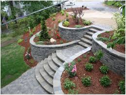 Backyards: Gorgeous Backyard Retaining Wall Designs. Garden ... Joplin Landscaping By Ss Custom Retaing Wall Slope Down To Flat Backyard Genyard Ideas For Hillside Backyard Slope Solutions Install 51 Best Sloped Yard Designs Retaing Walls Images On Pinterest Ceramic For Wall Laluz Nyc Home Design Outstanding Front Images Walls Richmond Va Installation Seating Minnesota Paver Patios Southview Best Sloping Garden Only On And