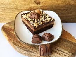 bueno cheesecake brownies haselnuss kinder bueno
