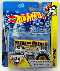 Hot Wheels Monster Jam Off-Road Holiday Edition - Higher Education 1 ...