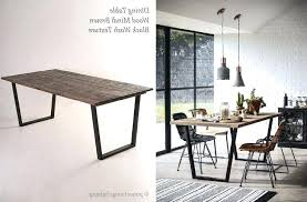 Industrial Style Dining Room Table Photo 1 Of Tables