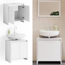 vicco waschbeckenunterschrank weiß unterschrank badschrank badezimmer kaufen otto