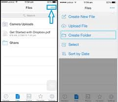 How to upload selected photos in dropbox manually in iPhone iPad
