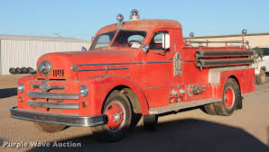 100 Cost Of A Fire Truck 1952 Seagrave 500BH Fire Truck Item DB5074 SOLD Februar