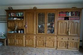 wohnzimmer schrankwand eiche rustikal 403x63x220 cm