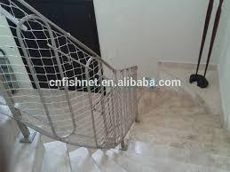 haute résistance débris barrière filet escalier de