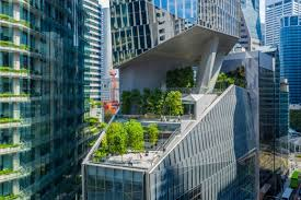 100 Robinson Architects Singapore Tower Gives Back The Greenery It Takes