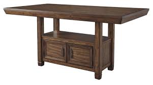 Counter Height Pub Table High Bistro Dining Rooms Outdoor ...