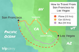 100 Truck Route Driving Directions San Francisco To Las Vegas All Ways To Make The Trip