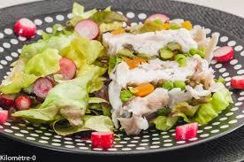 cuisiner la raie au four terrine de raie aux légumes de printemps et salicornes kilometre