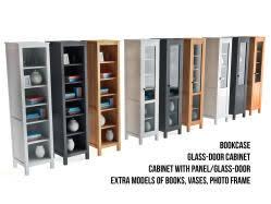 ikea hemnes cabinet 3d models turbosquid