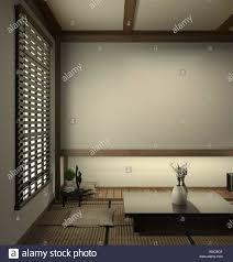 japan wohnzimmer tatami matten und traditionelle japanische
