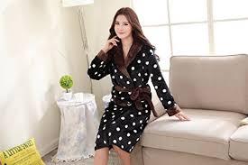 robe de chambre luxe acmede peignoir femme flanelle sortie de bain luxe doux robe de dans