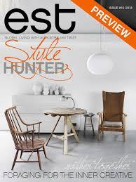Interior Decorating Magazines Australia by Est Magazine Issue 10 By Est Magazine Issuu