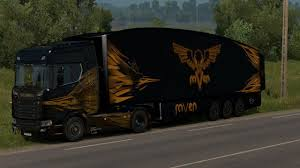 AeroDynamic Trailer By AM [v1.0] [22/12/2017] - SCS Software Solved The Aerodynamic Drag On A Truck Can Be Ruced By Volvo Trucks Celebrates 35 Years Of Innovation And Smarttruck Introduces Improved Trailer Aerodynamics System Adds Nasa Making More Efficient Isnt Actually Hard To Do Wired Scania Streamline Smoothing The Shape Cut Drag Boost Hawk Inflatable Aerodynamic Trucktail For Cargo Trucks Youtube Jackson Launches New Eco Refrigerated Truck Body Www Mercedesbenz Actros Caminhoes E Caminhonetes Fuel Costs Hatcher