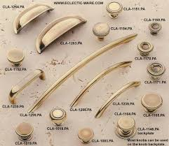 best assortment of solid brass cabinet pulls eclectic ware