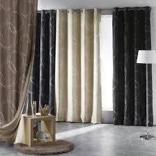 rideaux occultants thermique et isolant phonique déco fenêtre