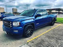 My Lowered Sierra Received Some New Shoes. : Trucks