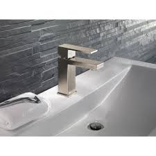 Delta Dryden Faucet Stainless by Delta Single Hole Bathroom Faucet Realie Org