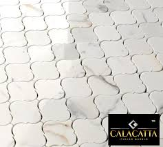 19 95 free ship calacatta gold arabesque marble polished mosaic