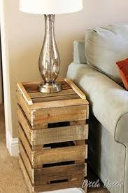 how to build end tables or nightstands free simple step by step