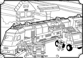 Top Coloring Lego Train Pages On Page Image