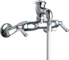Mop Sink Faucet Spec Sheet by 956 Cp Manual Faucets Chicago Faucets