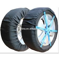 100 Snow Chains For Trucks Atli 2pcs Antiskid Safety Ice Mud Tires Fabric