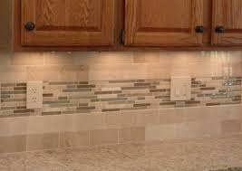 Gallery Plain Kitchen Backsplash With Oak Cabinets Kitchen