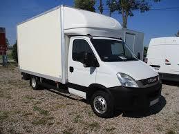 100 Box Truck Rv IVECO Daily 35C13 Winda Dhollandia Kontener Zarejestrowany W