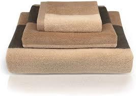 ynester premium bad handtuch set 100 baumwolle weich hoch absorbierend badetücher händehandtuch hotel spa badezimmer towels 3 teilig braun