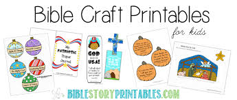 Free Bible Crafts And Activities