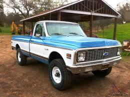 Cheyenne Super 4x4 Chevrolet Pickup Truck 1971 Classic