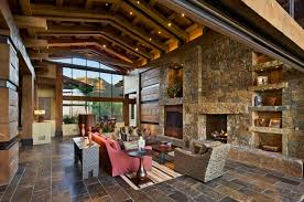 Rustic Style Of Tuscan Living Room