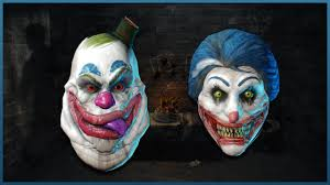 Payday 2 Halloween Masks Unlock by Payday 2 New Clown Masks Coulrophobia Day 8 Youtube