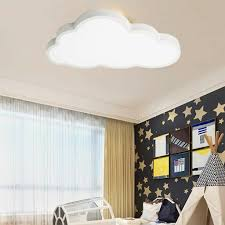 48w wolkenmusterdesign deckenleuchte stoff kaufland de