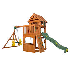 Wood Backyard Playsets Backyard Adventures Wooden Playsets Gym Sets American Sale Swing Give The Kids A Playset This Holiday Sears Swingsets And Nashville Tn Grand Sierra Natural Green Grass With Pea Gravel Garden For 131 Best Images On Pinterest Swings Interesting Design And Plus Gorilla Wilderness Do It Yourself Thunder Ridge Set Shop Discovery Shenandoah Residential Wood With Review Adventure Play Atlantis Dallas Catalina Playground Outdoor