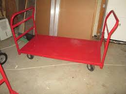 Lot 1104 Of 111 Metal Push Cart By Uline