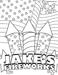 Free Coloring Pages Fireworks Red Ribbon Week 2012 Sheets Pdf
