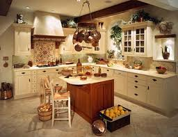Country Style Kitchen Decorating Ideas For Walls