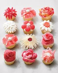 Cakes Decorated With Sweets by Candy Flower Cupcakes No Piping Required Martha Stewart