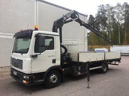 MAN TGL 12.240 4x2, Kympitetty Nosturi - Crane Trucks ...