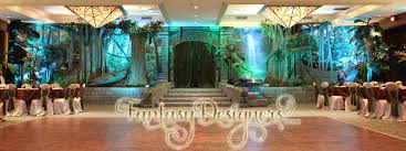quince stage decorations welcome to fantasy designers
