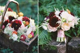 Flower Inspiration From The Brides Cafe Rustic Wedding Centerpiece