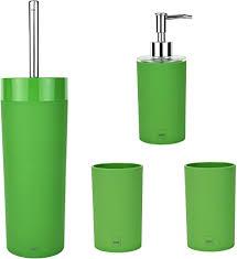 حلف يندفع يقوة فقط badezimmer accessoires grün