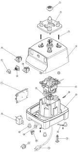 Bar Boss Blender Parts List