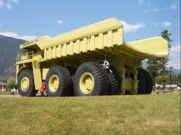 100 Biggest Trucks In The World Terex One Of The Largest Trucks In The World Sparwood BC