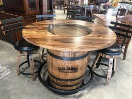Jack Daniels Whiskey Barrel Pub Table W/4 Swivel Bar Stools Bemkenswert Pub Style Table Height Chairs Extenders Stools Glacier With 4 Post Mission Swivel Bar Units And Tables Set 19 Small Upholstered By New Classic At Lapeer Fniture Mattress Center Cramco Trading Company Starling 3 Piece Pinnadel Counter Stool Ashley Homestore Details About Round Natural Wood Top Bistro Kitchen Ding S2a4 Muskoka Swivel Balcony Chairs 499 Cottage D White Folding And Chair Dinette With Replace Rv Sets Homesfeed